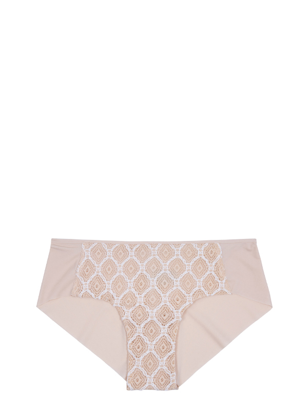 Chantilly Lace Briefs(Beige) (인에이 언더웨어 Chantilly Lace Briefs(Beige)) 브라 여자속옷
